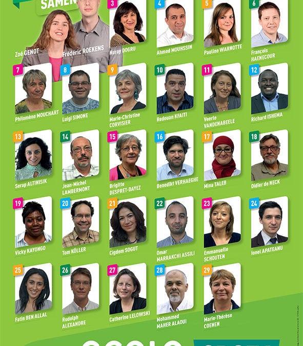 Nos 29 candidats pour Saint-Josse