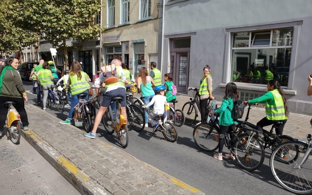 Journée sans voiture : Ecolo Groen 1210 se mobilise