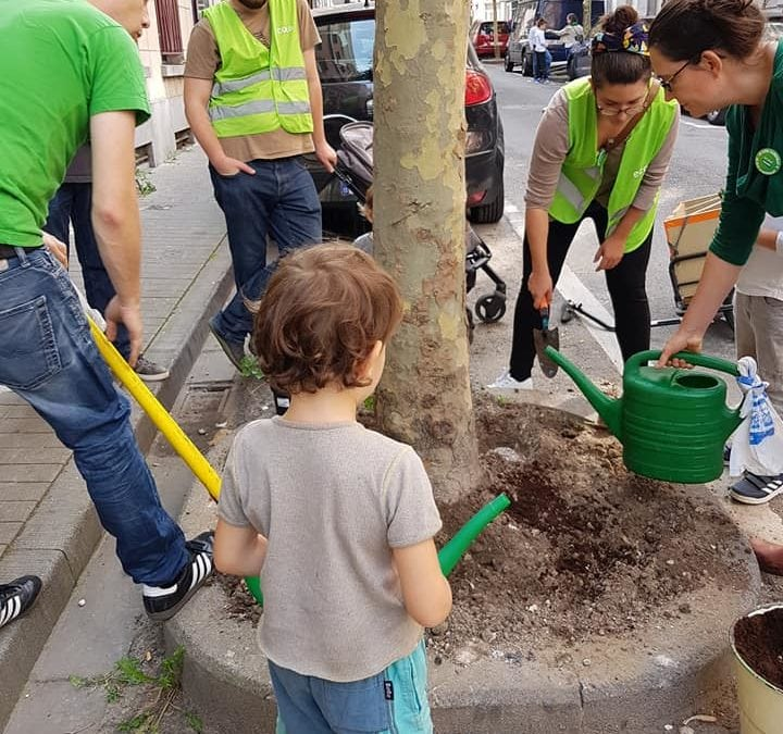 Ecolo Groen 1210 verdurise les quartiers